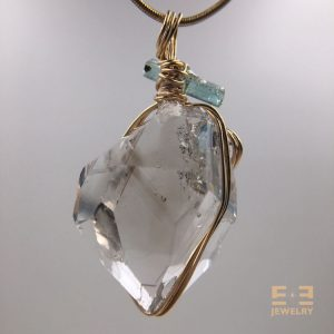 5-Herkimer-Topaz-BlueGreen-Tourmaline-back