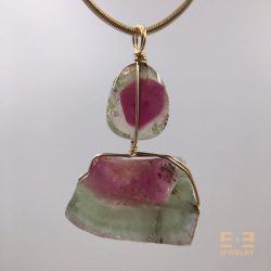 Double Watermelon Tourmaline